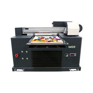 التركيز ocbestjet طابعة صغيرة a4 حجم الطباعة الرقمية آلة طابعة مسطحة uv
