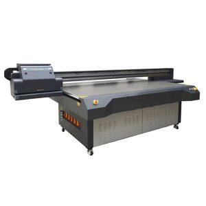 الأشعة فوق البنفسجية أدت طابعة مسطحة للزجاج / الاكريليك / آلة الطباعة السيراميك
