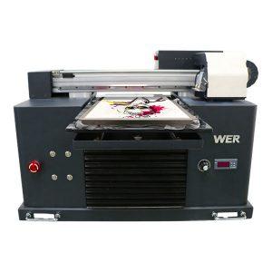 a4 dtg مسطحة آلة نسيج القطن طابعة تي شيرت الطباعة