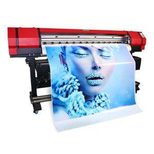 1.6 متر جلد آلة فليكس راية نسيج مسطح كبير تنسيق صديقة للبيئة النافثة للحبر