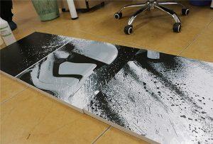 لوحة مطبوعة بواسطة طابعة UV كبيرة الحجم WER-G2513UV 2