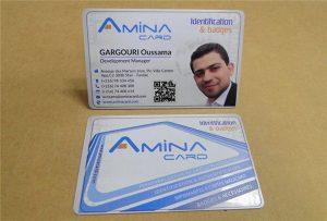 عينة prining بطاقة اسم العمل من طابعة uv سطح المكتب -A2 حجم WER-D4880UV