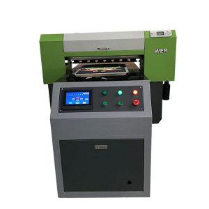 أفضل بيع تي شيرت النسيج طابعة مسطحة طابعة أكريليك طابعة مسطحة آلة الطباعة