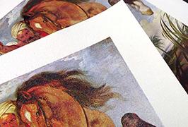 قماش مطبوع بالزيت من خلال طابعة مذيب بيئي بطول 2.5 متر (8 قدم) WER-ES2501