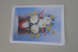 قماش مطبوع بزيت 2.5 متر (8 أقدام) طابعة المذيبات البيئية WER-ES2502