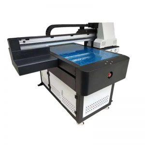 طابعة مسطحة للأشعة فوق البنفسجية دوارة لارتفاع الطباعة 8 سم WER-ED6090UV