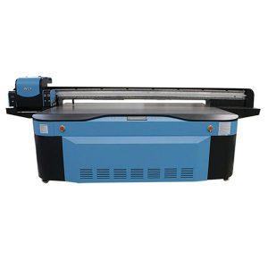 شكل كبير عالية السرعة الرقمية طابعة مسطحة الصين للأشعة فوق البنفسجية للطباعة الزجاج